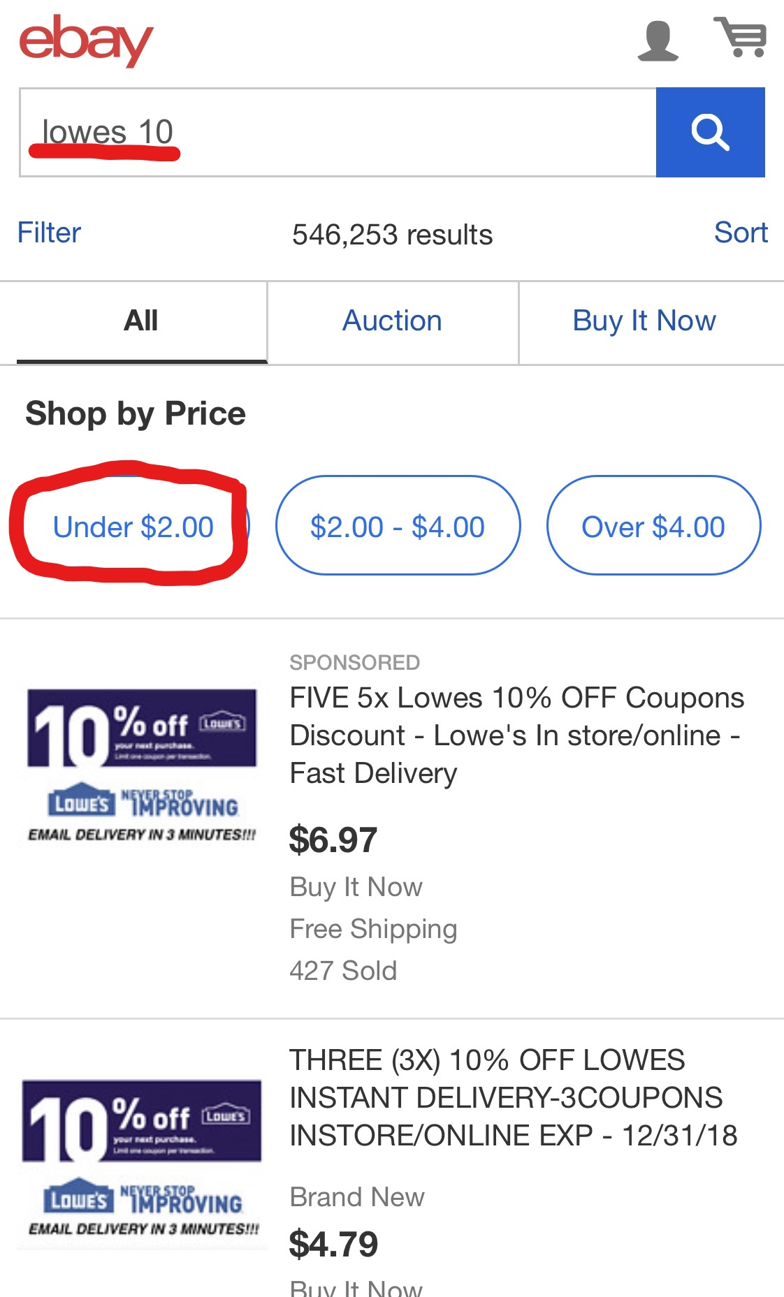 Lowes 10% coupon